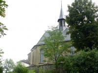 Rückansicht der Wallfahrtskirche